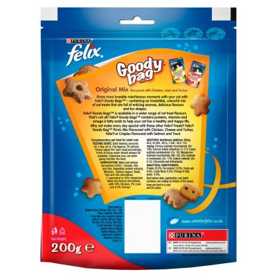 Felix Goody Bag Cat Treats Maxi Pack 200g