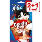 Felix Goody Bag Treats -  2 + 1 Free!*