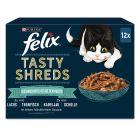 Felix Heerlijke Reepjes Kattenvoer 12 x 80 g