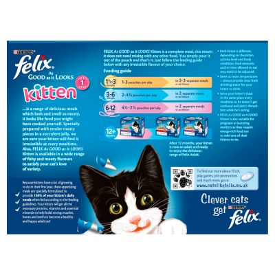 Felix Kitten As Good As It Looks 12 x 100g