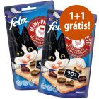 Felix Mini Filetti 2 x 40 g snacks em promoção: 1 + 1 grátis!