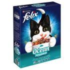 Felix Ocean Sensations Dry Cat Food with Fish