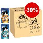 Felix Party Mix 16 x 60 g - Pack Misto snacks para gatos a preço especial!
