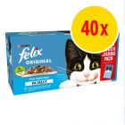 Felix Pouches in Jelly 40 x 100g
