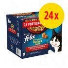"Felix ""Sensations"" en gelée 24 x 100 g"