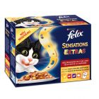 "Felix ""Sensations Extra"" Pouches"