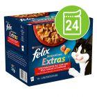 """Felix """"Sensations Extras"""" kapsičky 24 x 85 g"""