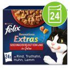 """Felix """"Sensations Extras"""" vrečke 24 x 85 g"""