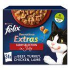 Felix Sensations Extras w galarecie, 24 x 85 g