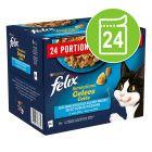 """Felix """"Sensations"""" Pouches 24 x 85 g"""