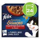 Felix Sensations Sauce Surprise 24 x 100 g pour chat