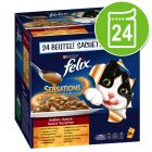 Felix Sensations Sauce Surprise 24 x 100 g pour chat