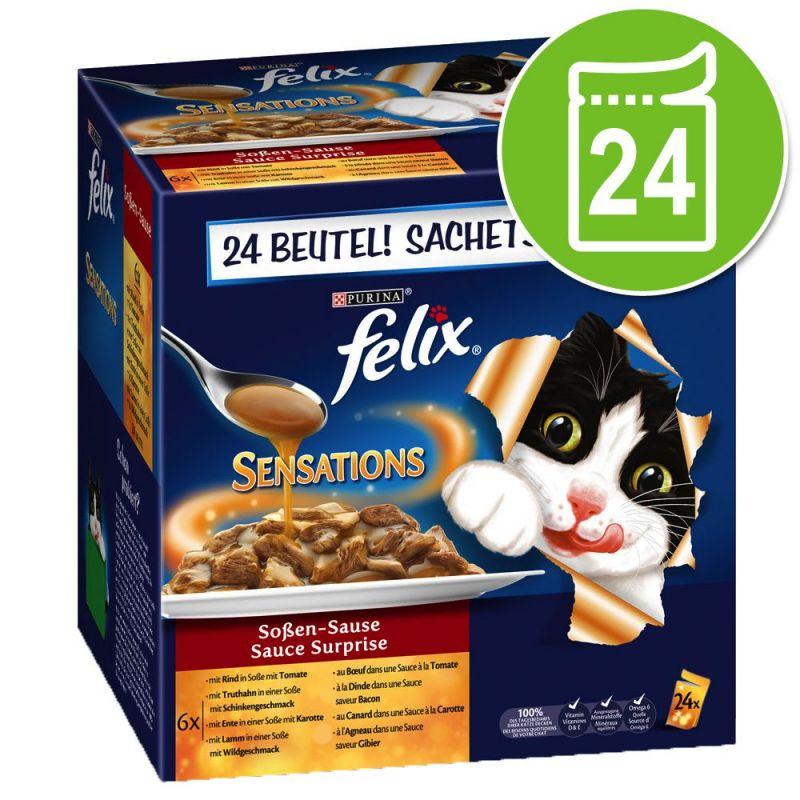 Felix Sensations szószos falatok 24 x 100 g