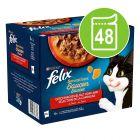Бонус опаковка Felix Sensations в паучове 24 x 85 г