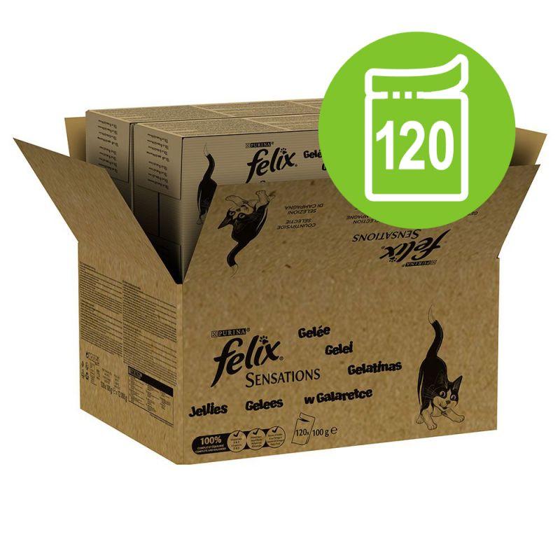 Felix Sensations 120 x 100 g - Jumbopack