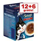 Felix Soup snacks 18 x 48 g em promoção: 12 + 6 grátis!