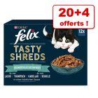 Felix Succulent Grill pour chat 20 x 80 g + 4 sachets offerts !