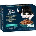"""Felix """"Tasty Shreds"""" kapsičky 12 x 80 g"""