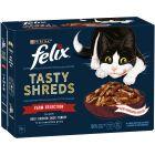 Felix Tasty Shreds 12 x 80g
