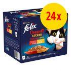 """Felix """"Tendres Effilés Délicieux Duos"""" en gelée 24 x 85 g"""