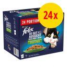 """Felix """"Tendres Effilés"""" en gelée 24 x 85 g"""