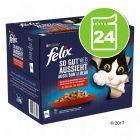 Felix Tendres Effilés en gelée 24 x 85 g pour chat