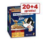 Felix 24 x 100 g en oferta: 20 + 4 ¡gratis!