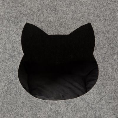 Felt Cat Den for Shelves