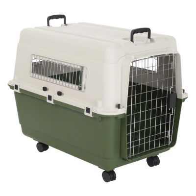 Feria Transport Crate + Vetbed® Isobed SL Paw Bundle