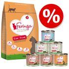 Пробная упаковка 400 г сухого корма Feringa и 6 х 200 г влажного