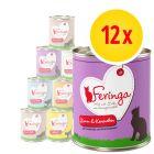 Feringa Classic Meat Menu -säästöpakkaus 12 x 800 g
