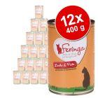 Feringa Classic Meat Menu -säästöpakkaus 12 x 400 g