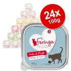 Feringa Classic Meat Menu Trays Saver Pack 24 x 100g