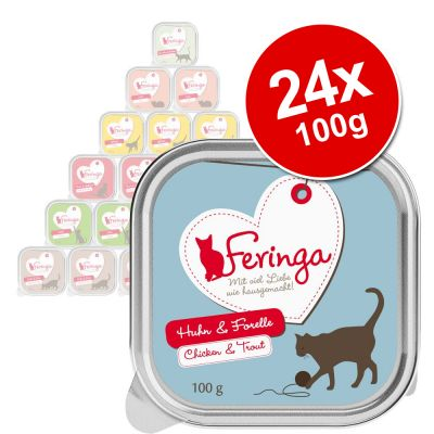 Feringa Classic Meat Menu Trays Saver Pack 24 x 100g
