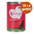 Feringa Classic Meat Menu 24 x 400 g en oferta: 18 + 6 ¡gratis!