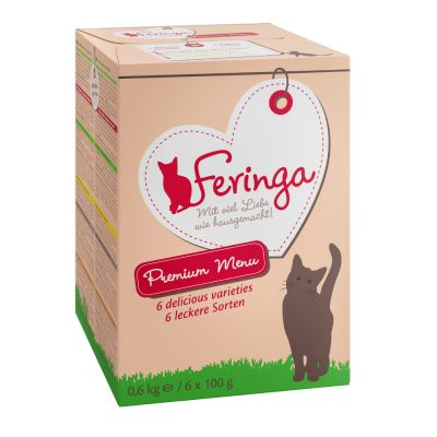 Feringa Classic Meat Menu 6 x 100 g en tarrinas - Pack mixto