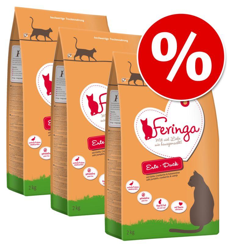 Feringa Dry Cat Food Economy Packs 3 x 2kg
