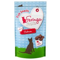 Feringa Fish Snacks con salmón para gatos