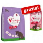 Feringa 6,5 kg hrană uscată pisici + 3 x 30 g gustări Feringa gratis!