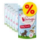 Feringa Kitten Milky Snacks -säästöpakkaus 6 x 30 g