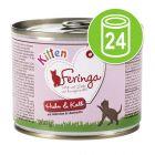 Feringa Kitten Voordeelpakket Kattenvoer 24 x 200 g