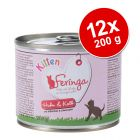 Feringa Kitten 12 x 200 g - Pack económico