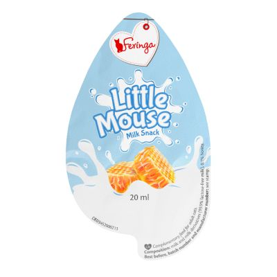 Feringa Little Mouse Milk Snack pour chat