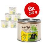 Feringa Menù alla carne Kitten 6 x 200 g Alimento umido per gatti