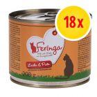 Feringa Menu Duo-Soorten Voordeelpakket Kattenvoer 18 x 200g