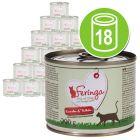 Feringa Menu Duo-Soorten Voordeelpakket Kattenvoer 18 x 200 g