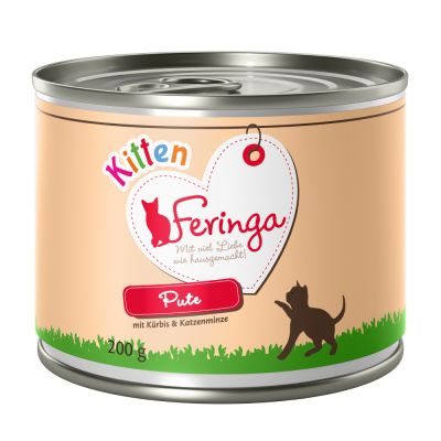 Feringa Menu Kitten Saver Pack 24 x 200g
