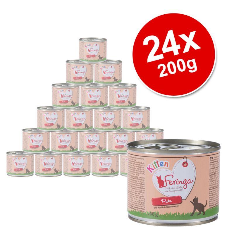 Feringa Menu Kitten Saver Pack 24 x 200g