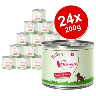 Feringa Menu Kitten Saver Pack 24 X 200g Zooplus Co Uk