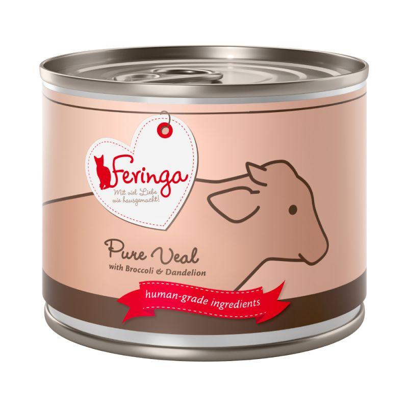 Feringa Menus à la viande 6 x 200 g pour chat